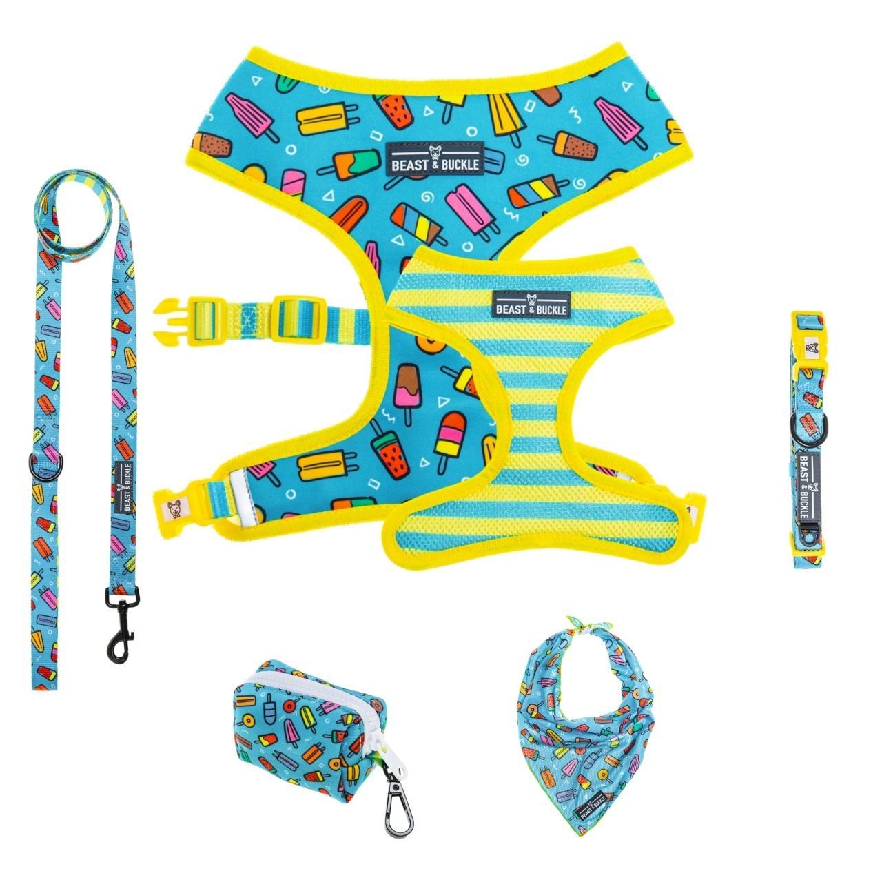 Popsicle Harness Collection Bundle - Beast & Buckle