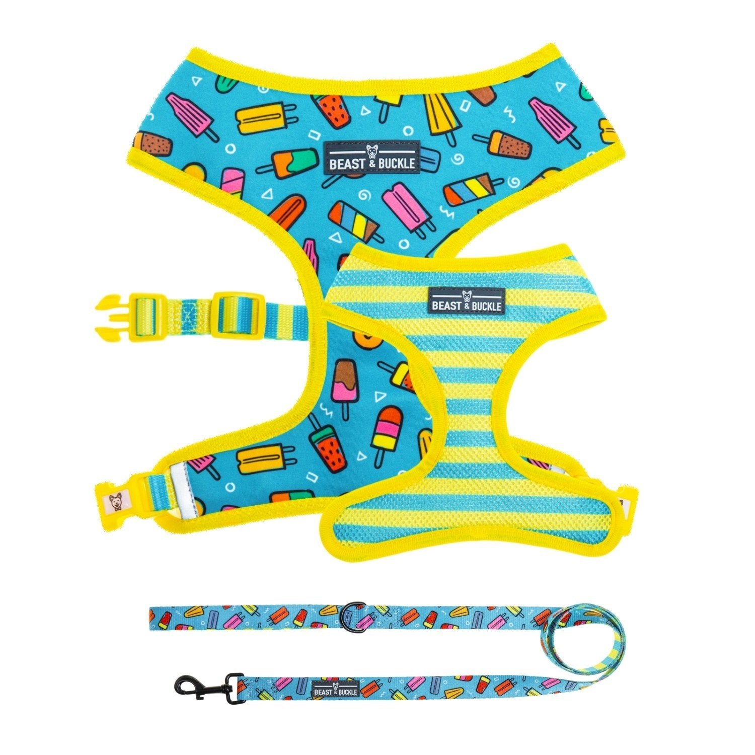 Popsicle Harness & Leash Set - Beast & Buckle