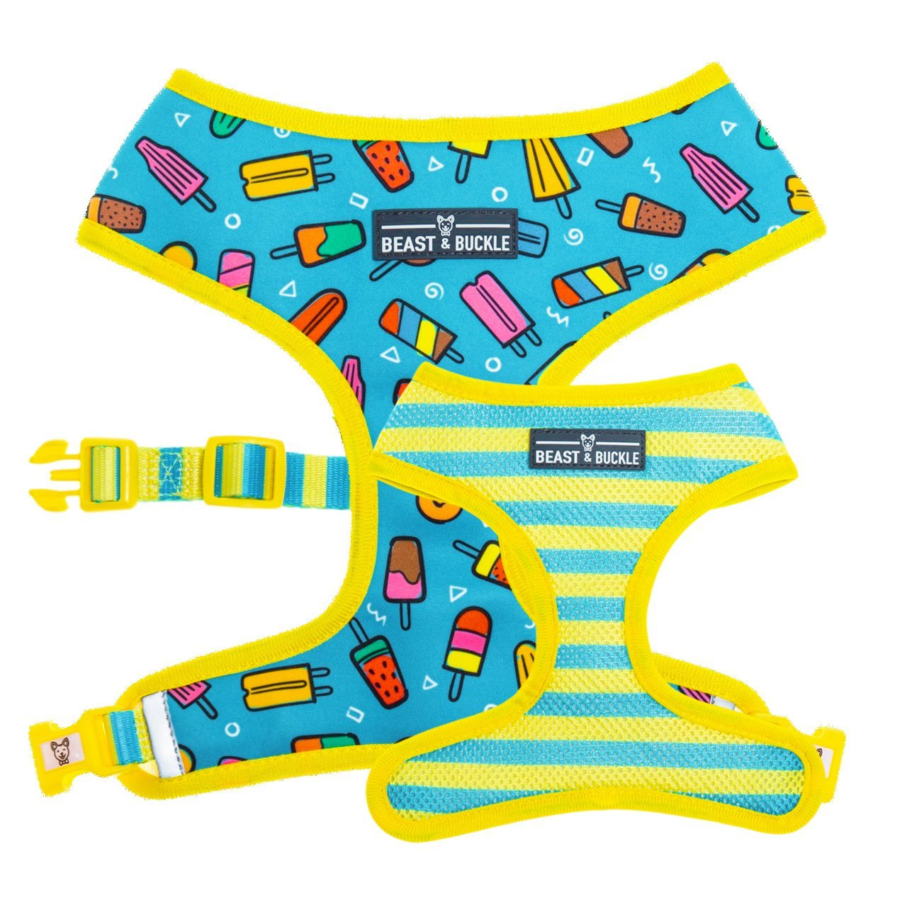 Popsicle Reversible Dog Harness - Beast & Buckle