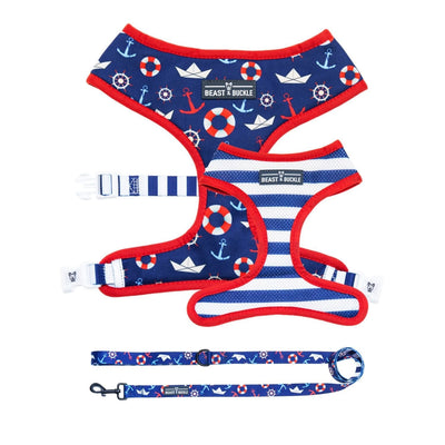 Sailor Harness and Leash Set - Beast & Buckle