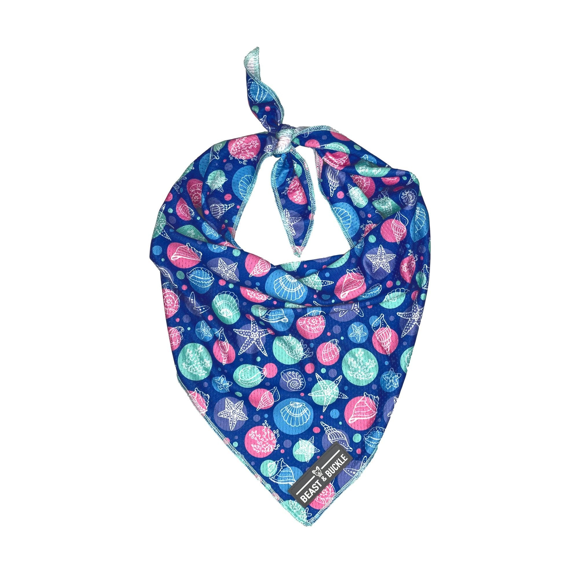 Seashell Cooling Bandana - Beast & Buckle