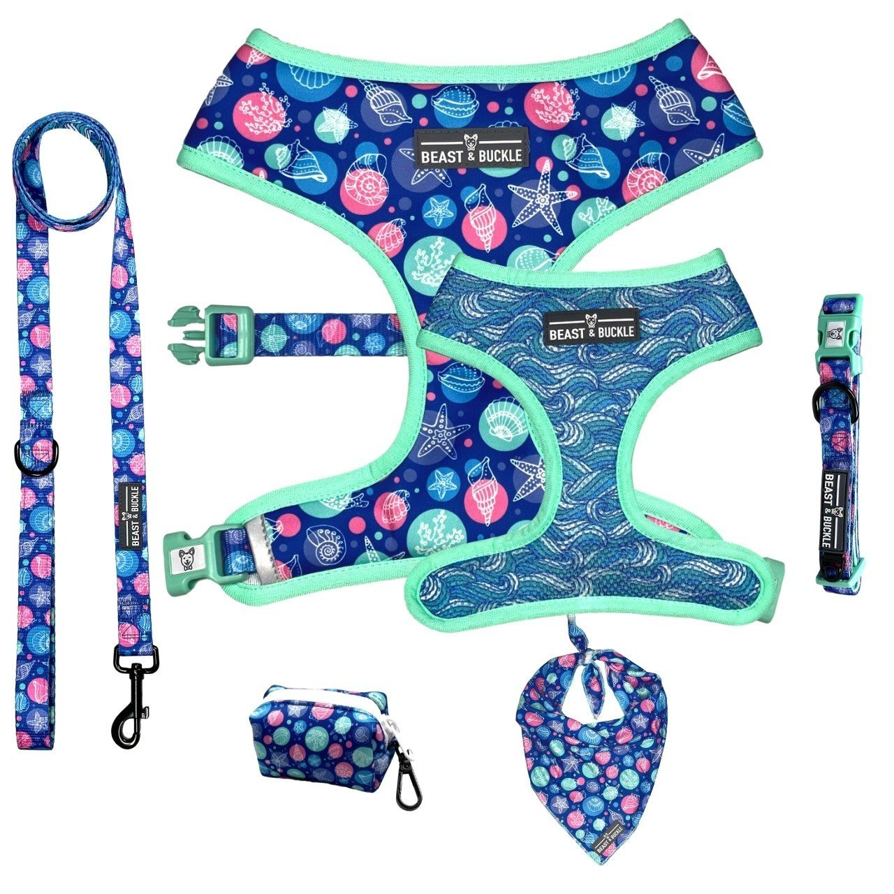 Seashell Harness Collection Bundle - Beast & Buckle