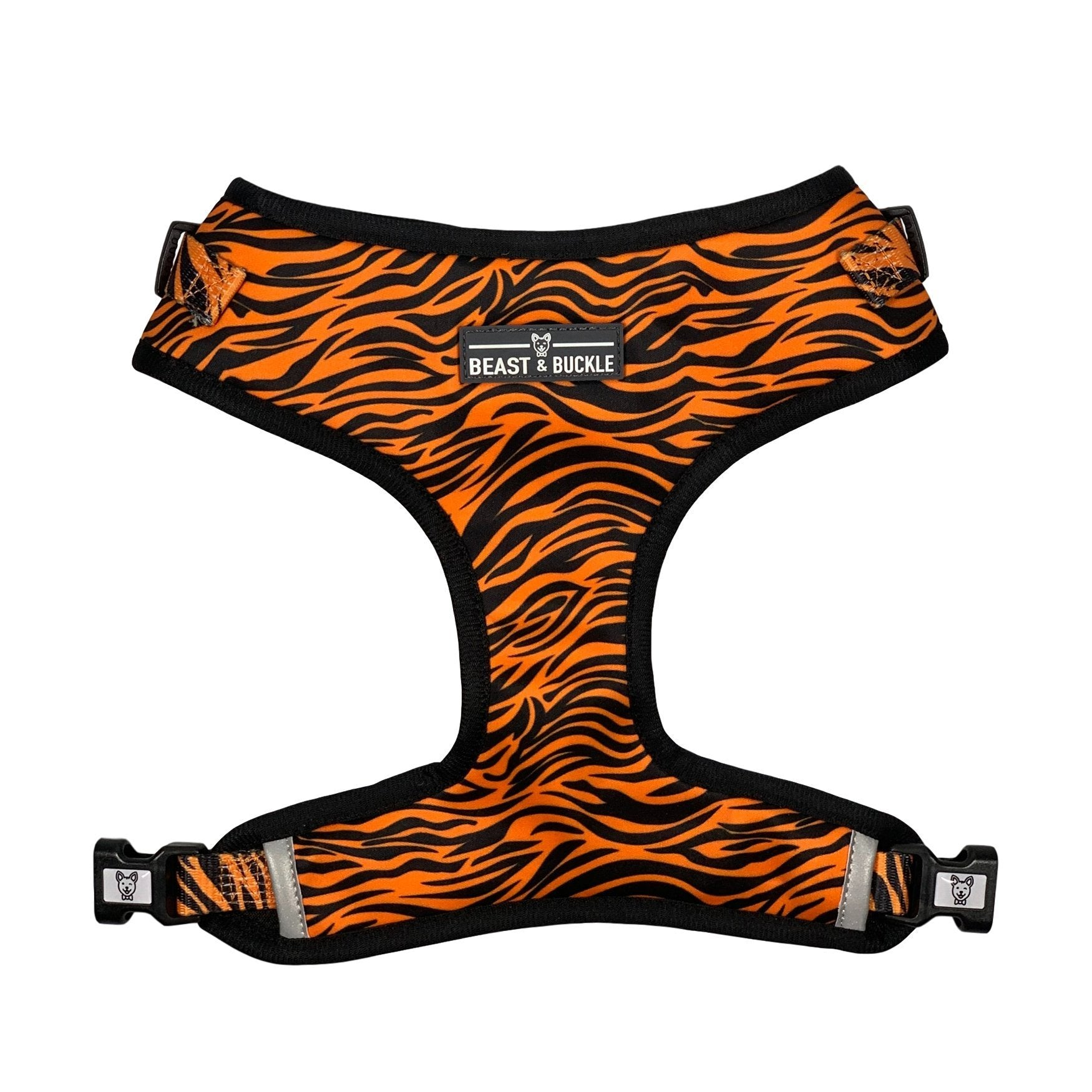 Tiger Adjustable Dog Harness - Beast & Buckle