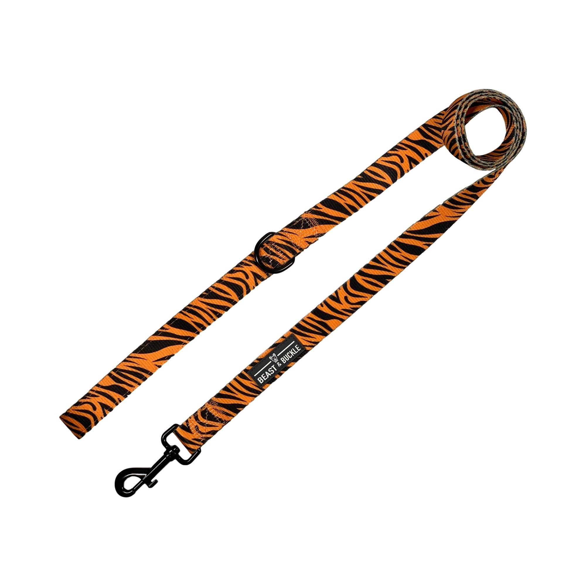 Tiger Dog Leash - Beast & Buckle