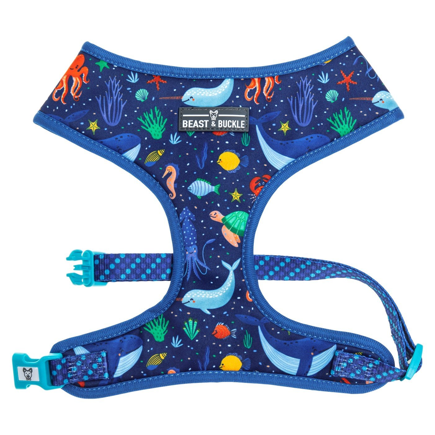 Under the Sea Classic Dog Harness - Beast & Buckle