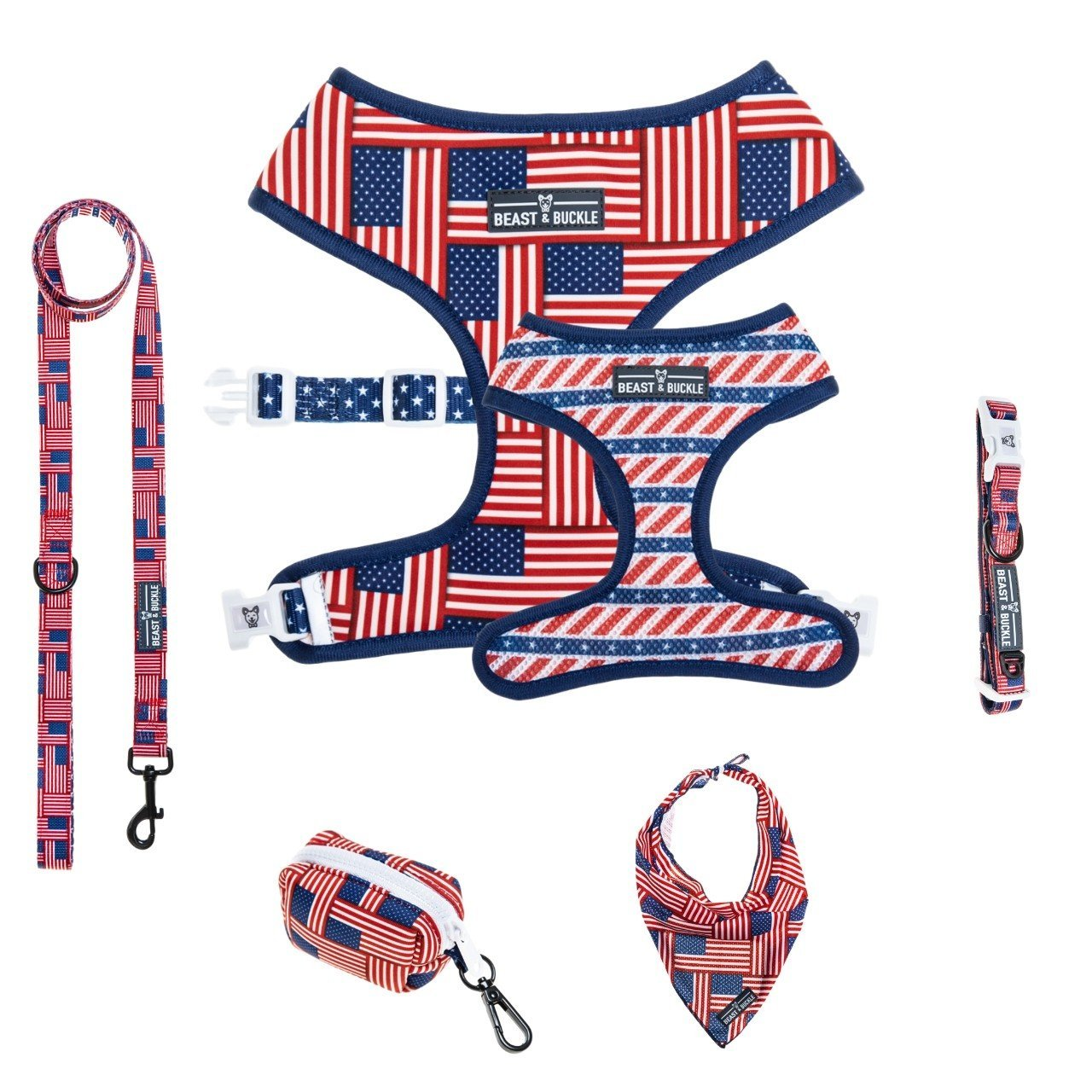 USA Harness Collection Bundle - Beast & Buckle