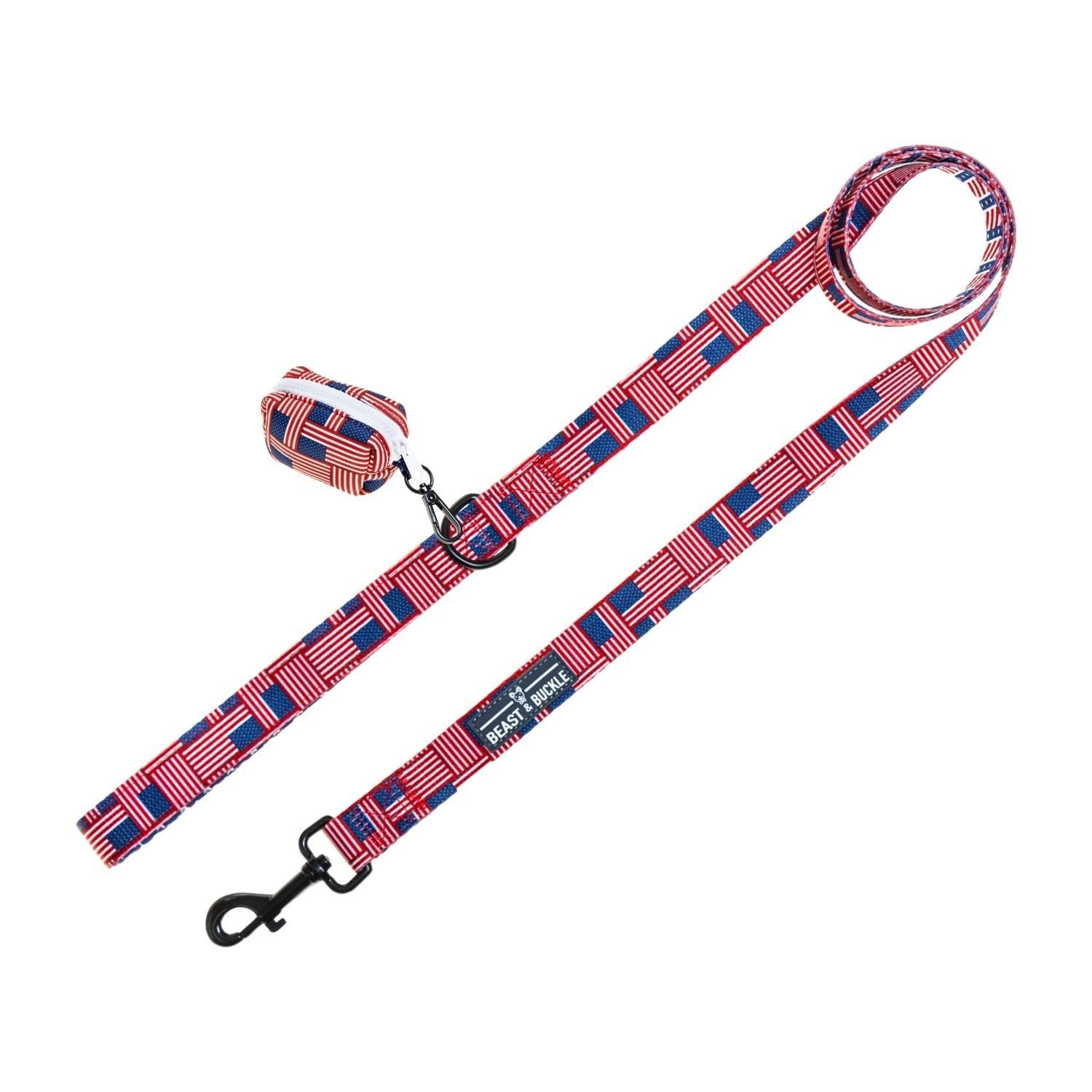 USA Leash Set - Beast & Buckle