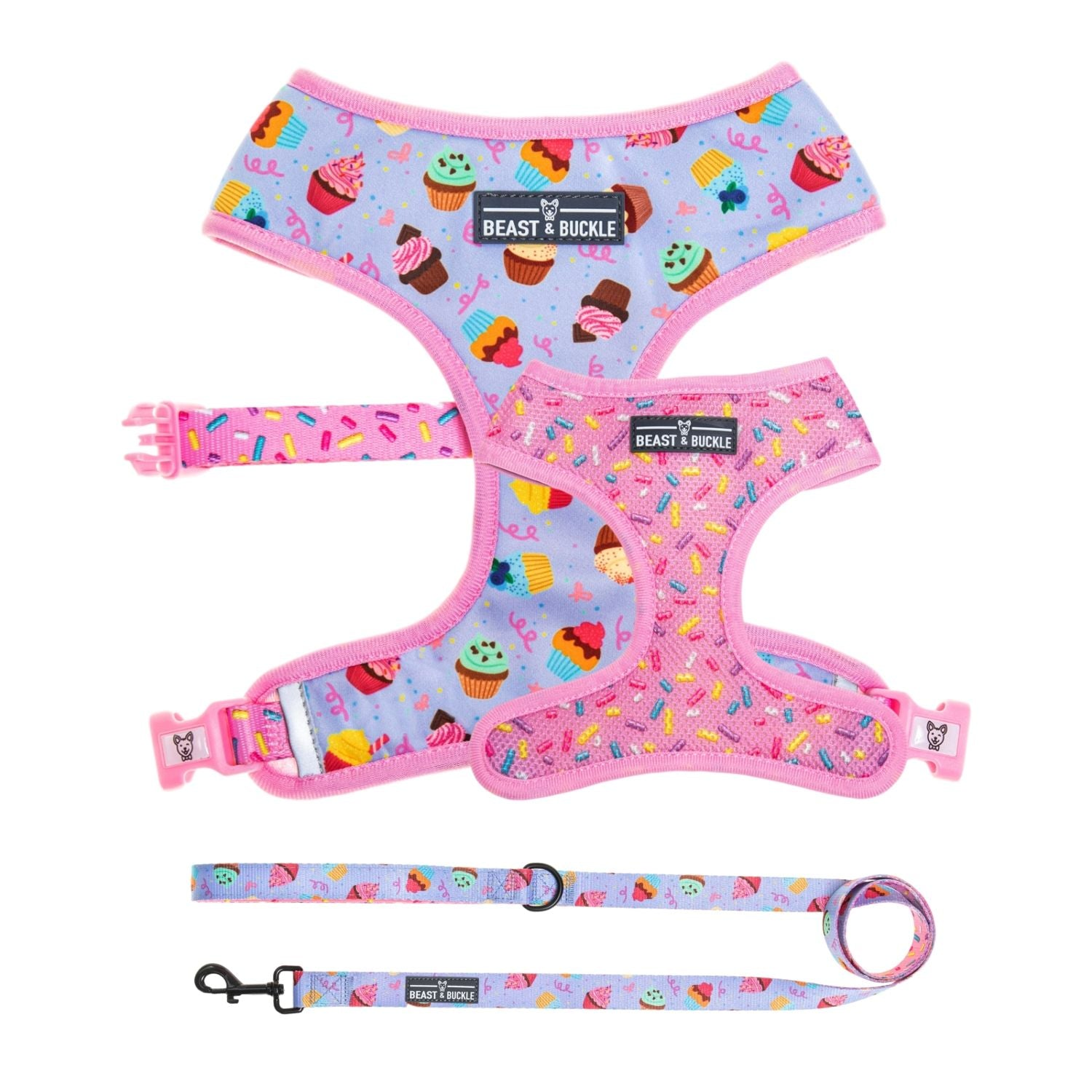 Cupcake Harness and Leash Set