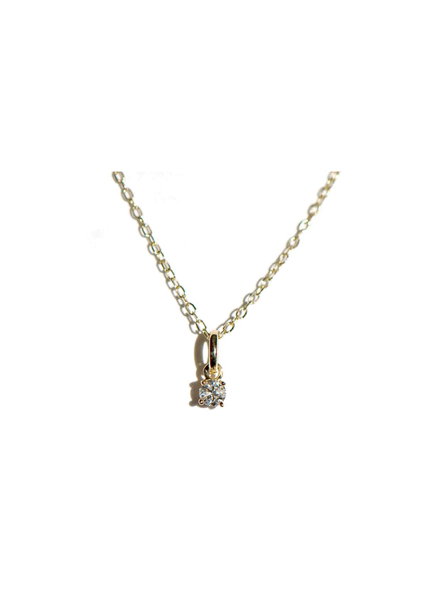 3mm Diamond Charm