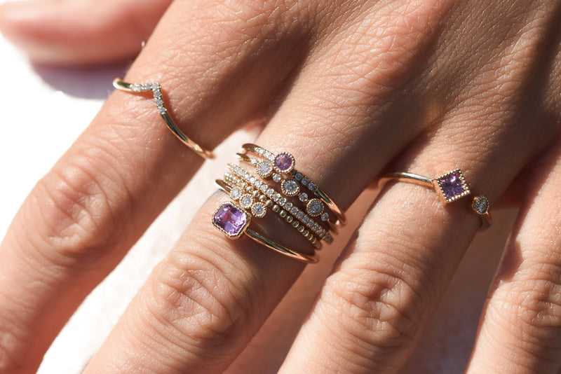 Journey Ring - Pink Sapphire