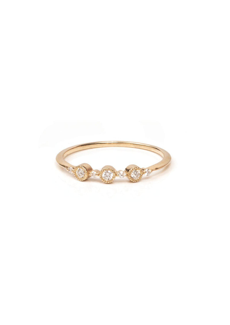 Ellipsis Ring - Diamond