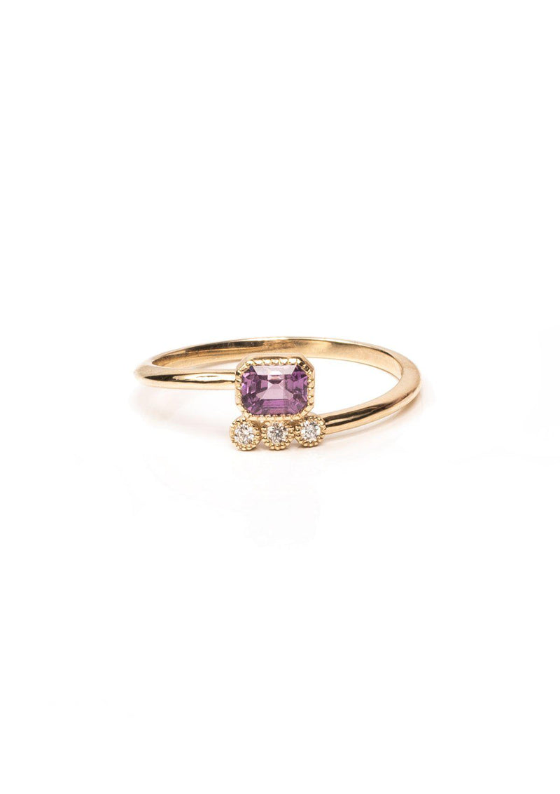 Wrap Ring - Pink Sapphire