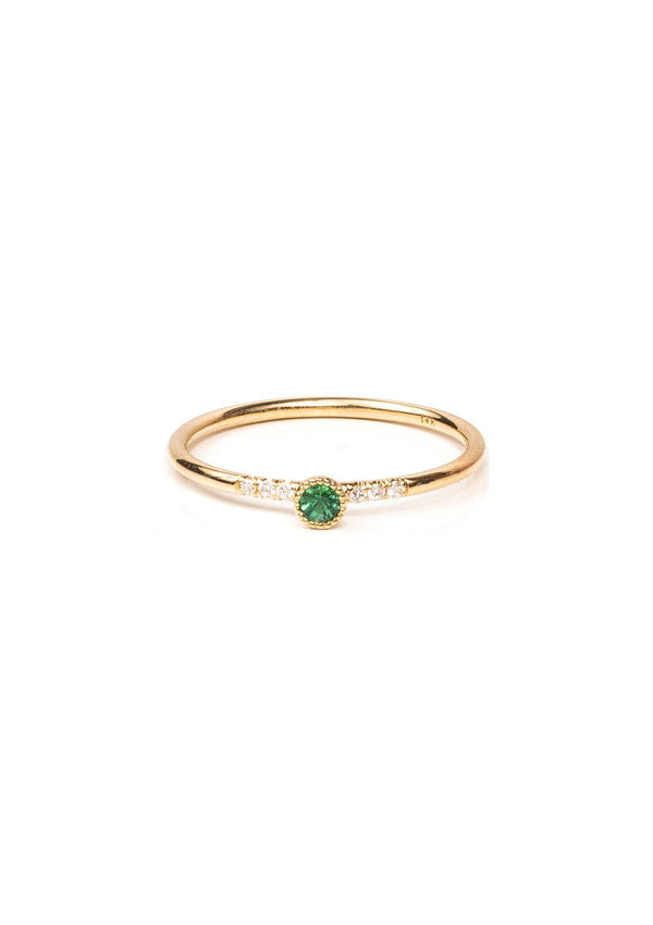 Sparkler Ring - Emerald