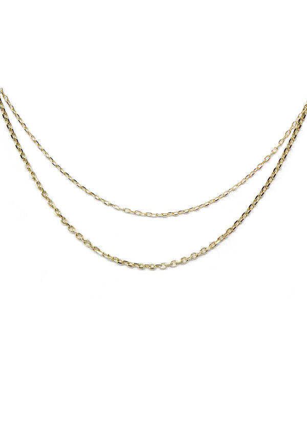 Diamond Cut Cable Chain - Heavy
