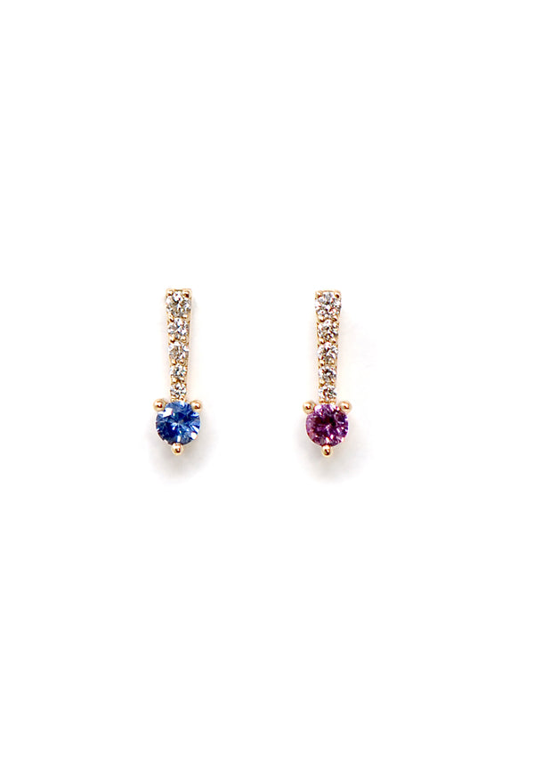 Icicle Earring - Sapphire