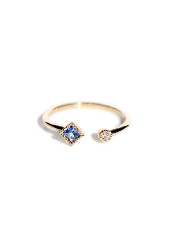 Journey Ring - Blue Sapphire