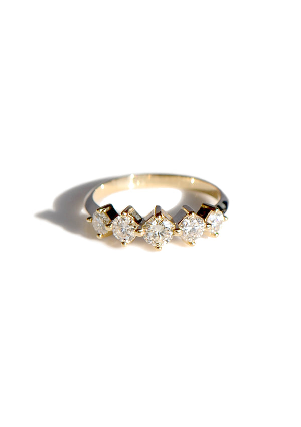 5 Stone Olympia Ring - Diamond