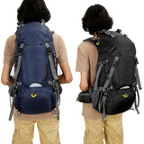 Large Waterproof Military Rucksack + Rain Cover