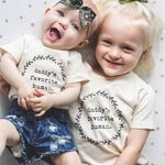 Daddy's Favorite Human Kids Tee