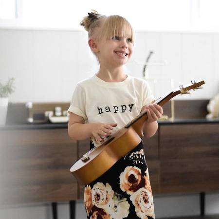 Happy Organic Kids Tee