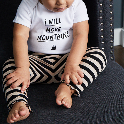I Will Move Mountains Onesie
