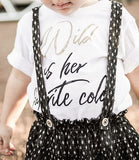 Wild is Her Favorite Color Toddler Tee