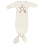 RAINBOW - ORGANIC INFANT GOWN