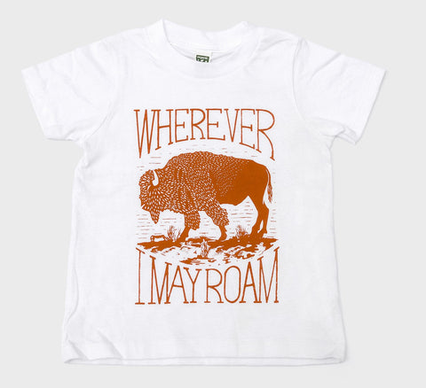 Wherever I May Roam T Shirt