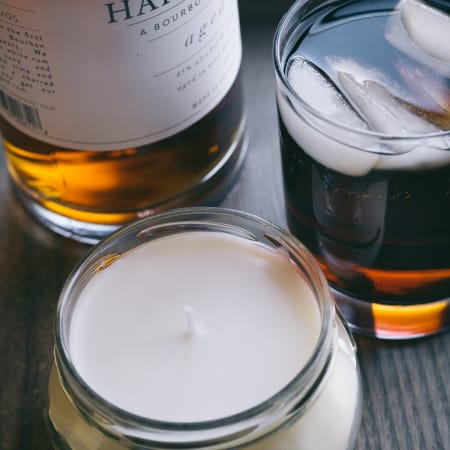 Bluegrass Bourbon Soy Candle