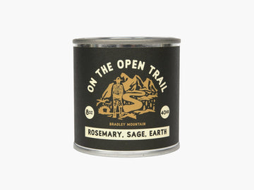 Open Trail Travel Candle