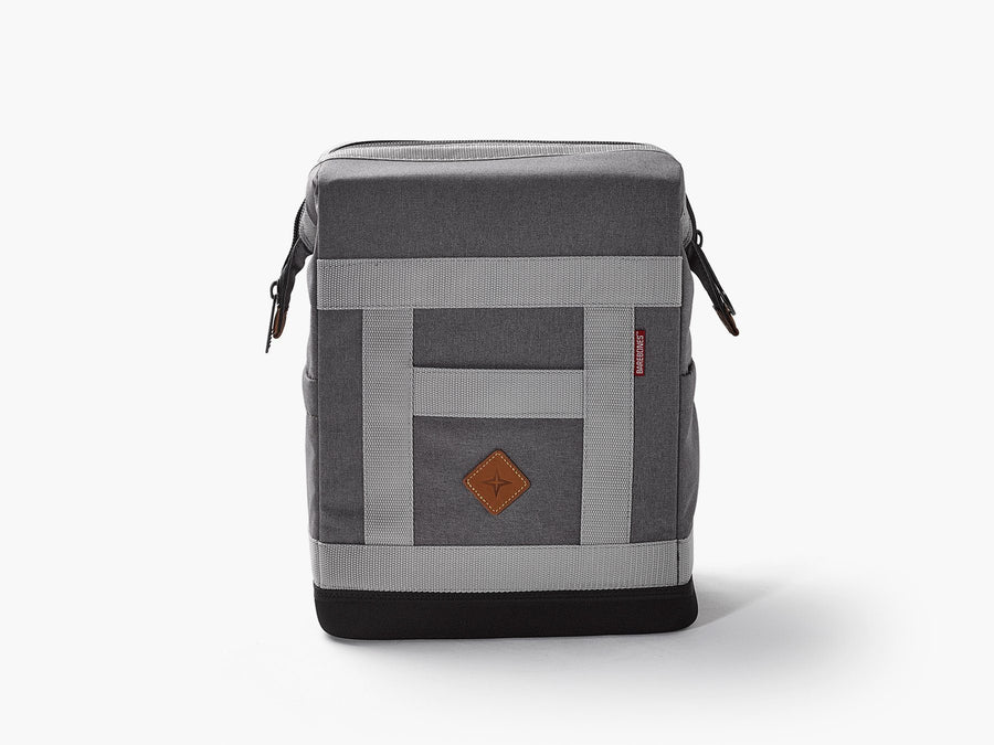 Barebones backpack soft sided cooler grey
