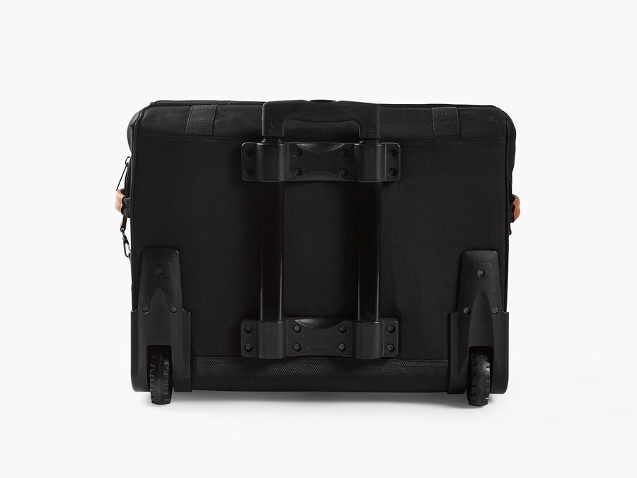 Barebones large rolling soft sided cooler black