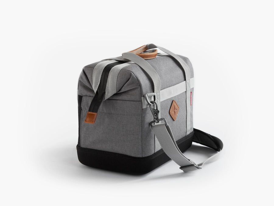 Barebones small soft sided cooler grey