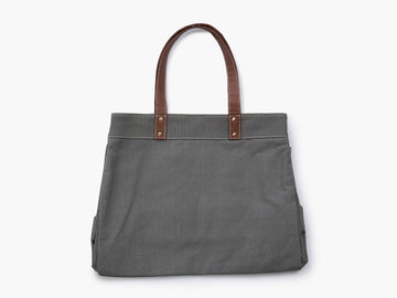 Waxed Canvas Carryall Tote