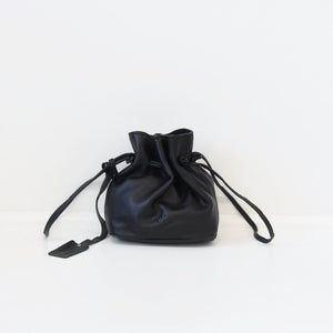POL Genuine Leather Bucket Bag
