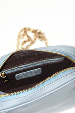 Load image into Gallery viewer, Blue Genuine Leather Crossbody