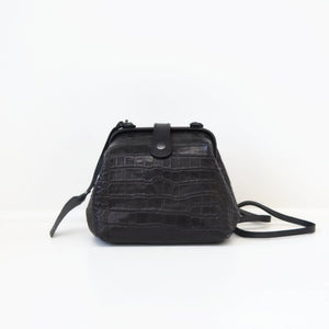 Genuine Leather Dr. Crossbody