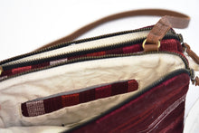 Load image into Gallery viewer, Andrea Crossbody : Garnet Brushstroke
