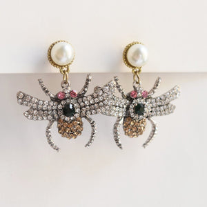 Glitter and Glam Bug Earrings