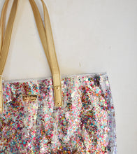 Load image into Gallery viewer, Packed Party Confetti Bucket Bag