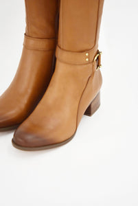 Dane Leather Boot Maple