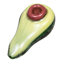 Load image into Gallery viewer, Avocado Glass Hand Pipe-Luxury Lifted