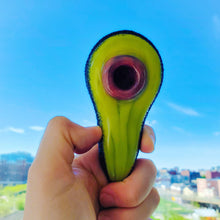 Load image into Gallery viewer, Avocado Glass Pipe-glass pipe-Luxury Lifted