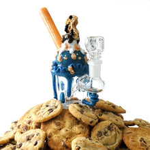 Load image into Gallery viewer, Cookie Monster Ice Cream Sundae Mini Bong-water pipe-Luxury Lifted