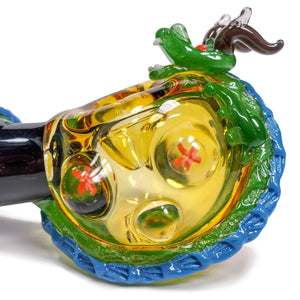 Dragon Sphere Spoon Pipe--Luxury Lifted