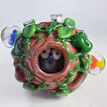 Load image into Gallery viewer, Forest Owl Glass Pipe-Luxury Lifted