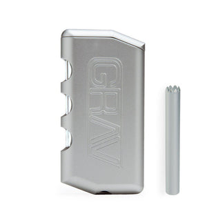 GRAV Dugout & One Hitter-silver-Luxury Lifted