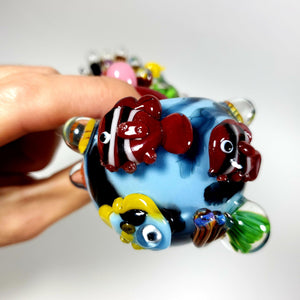 Great Barrier Reef Glass Pipe-Luxury Lifted