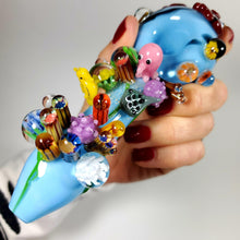 Load image into Gallery viewer, Great Barrier Reef Glass Pipe-Luxury Lifted