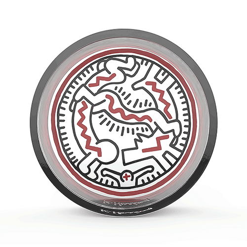 K. Haring Circle Catchall-Luxury Lifted-snake people-Luxury Lifted